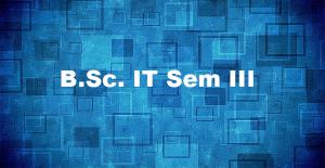 Bsc-IT SEM-III