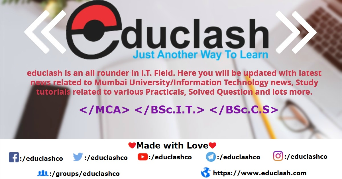 mca notes educlash